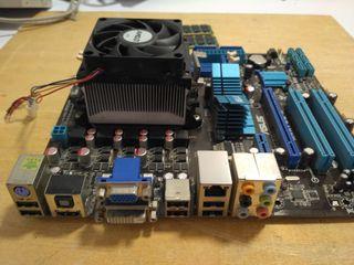 Placa base Asus Athlon X3 445 8gb ddr2 Nas, Tv