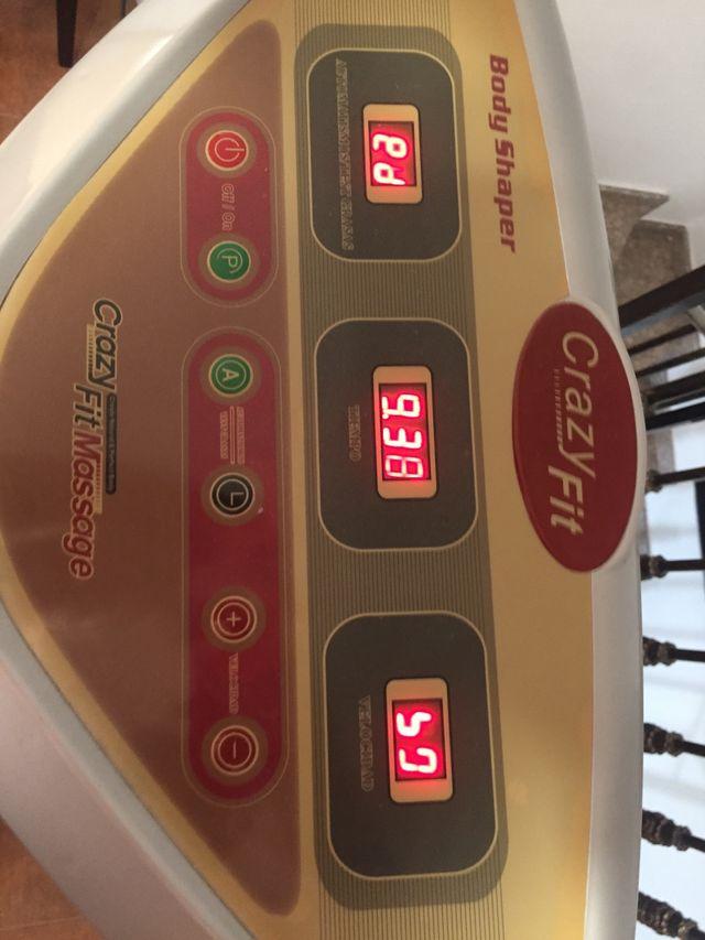 Máquina vibratoria de masaje muscular