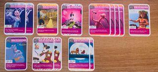Momentos de película cromos coleccionables Disney