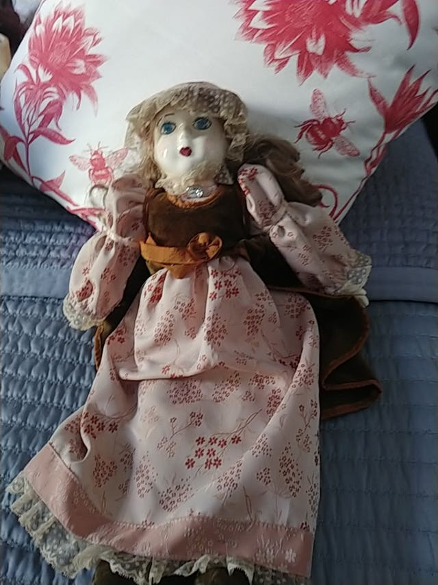 Muñeca Porcelana Vintage.