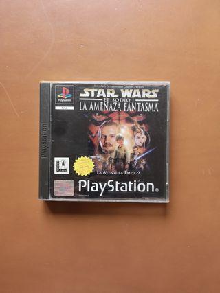 Star Wars episode I videojuego Play Station 1