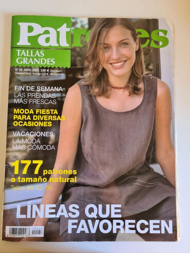 Revista Patrones Tallas Grandes De Segunda Mano Por 2 En San Enrique De Guadiaro En Wallapop