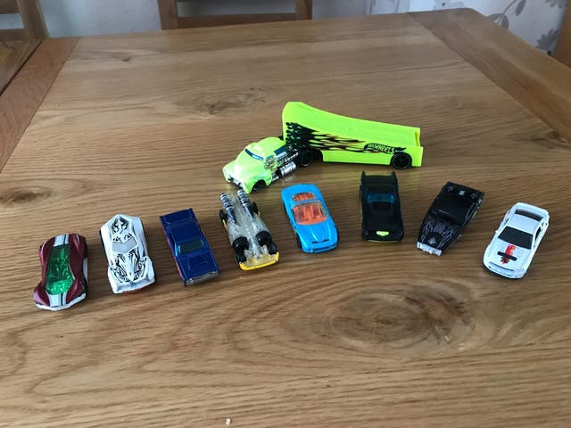 Hot Wheels CARS x9