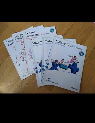 Libros 4° primaria. Santillana