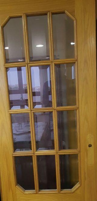 puerta de cocina corredera acristalada. Almussafes