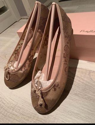 bailarinas de Pretty Ballerinas de encaje