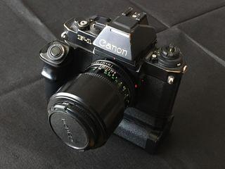 Canon F1 + Objetivo FD 100mm f/2