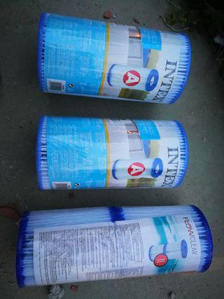filtros y compresor de agua piscina