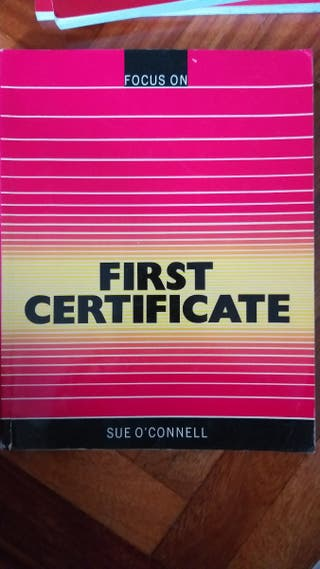 Libro first certificate Focus on