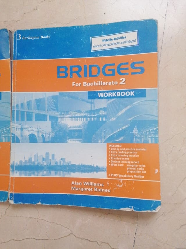 bridges for bachillerato workbook