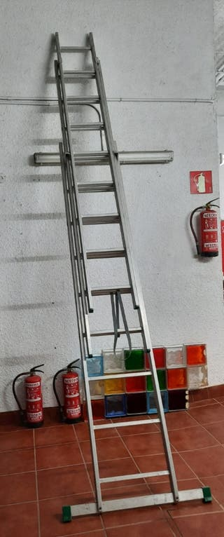 Escalera Extensible metálica