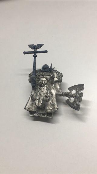 space marine de metal old warhammer 40k