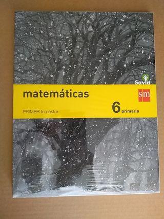 Libro matemáticas 6° Primaria sm