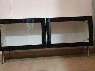 Mueble vitrina salón BESTA Ikea
