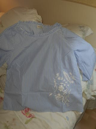 camisa rayas con manga japonesa