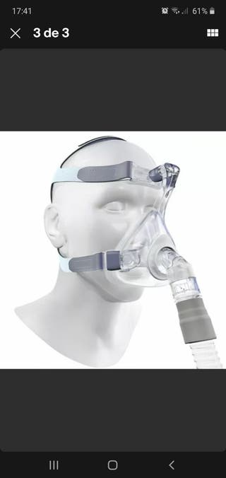 Mascara facial apnea CPAP Talla L Nueva