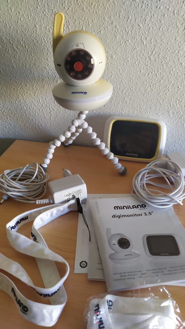 Cámara vídeo vigilancia bebés
