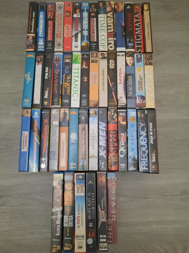 Peliculas en cintas VHS