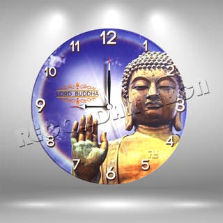 Reloj de Disco LP de Buda