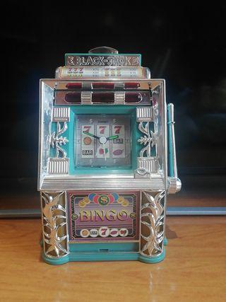 reloj máquina tragaperras