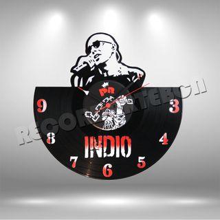 Reloj de Disco LP Indio Solari
