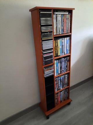 Mueble para cintas y dvd