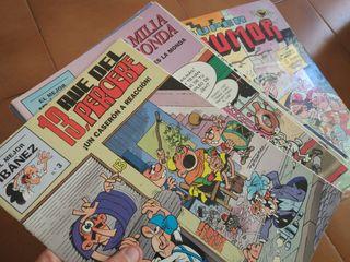 Libros y cómics varios de Mortadelo y Filemón