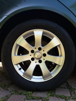 4 Llantas aleacion Mercedes clase E