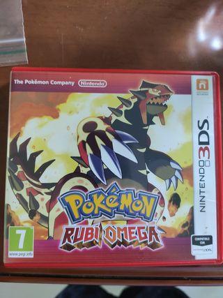 Pokemon Rubí Omega 3ds