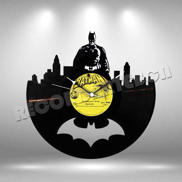 Reloj de Disco LP de Batman