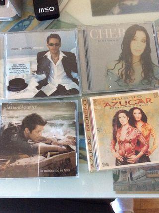 Discos cd's grandes artistas. Oportunidad!