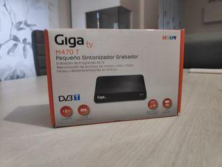 Sintonizador TDT y grabador GIGA TV M470T