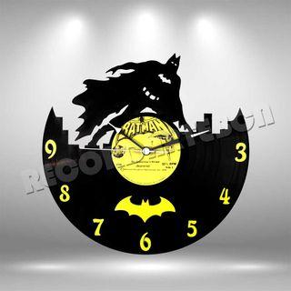 Reloj de Disco LP de Batman 2
