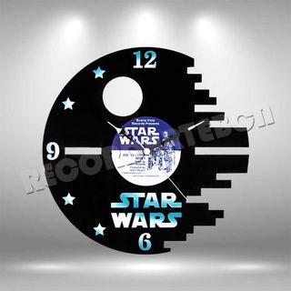 Reloj de Disco LP de Star Wars 2