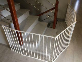 Barrera protección escaleras