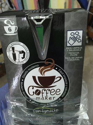 Cafetera San Ignacio 6 tazas