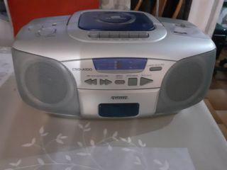 Radio cd cassette