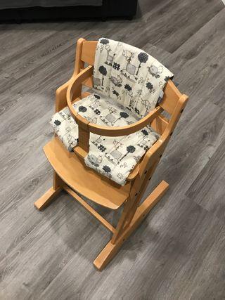 Baby-Dan trona de fusta