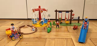 Playmobil parque y dos atracciones 4070,5553,5547