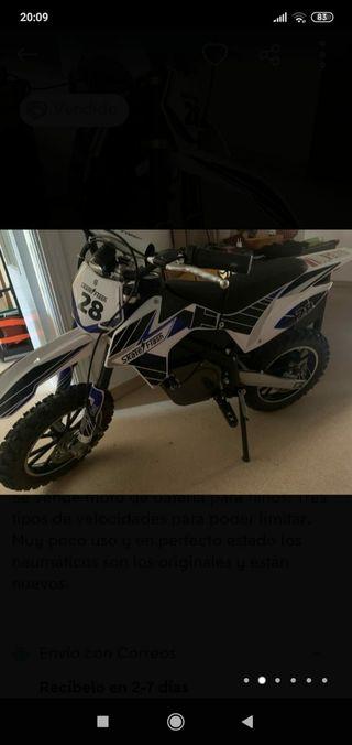 se vende moto de bateria