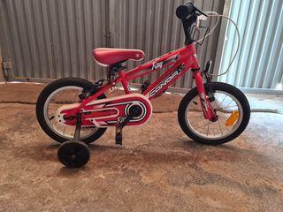 Bicicleta CONDOR 14 pulgadas con ruedines
