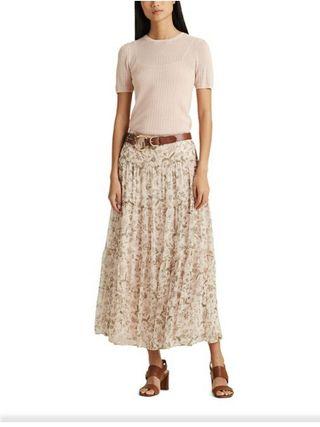 Falda larga Ralph Lauren