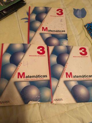 Libros de Matemáticas Anaya