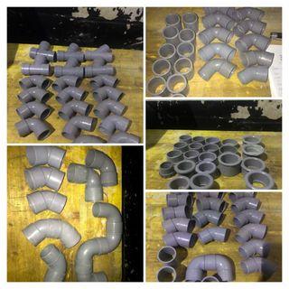 Piezas de fontanería de PVC