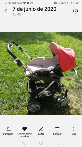 Vendo Coche Bebé Casualplay + maxicosi-6 meses uso