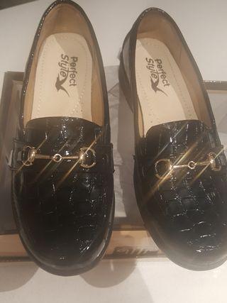 zapato manoletina talla 38 nuevas