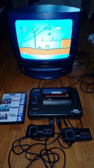 Sega Master System II en caja