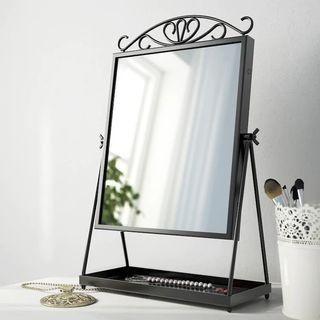 Espejo de mesa tocador NUEVO metálico