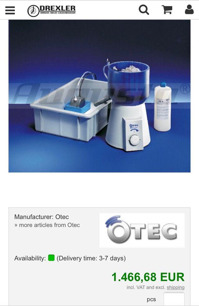 Pulidora joyeria OTEC