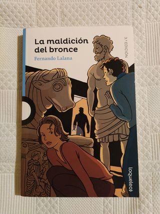 Novela infantil: La maldición del bronce